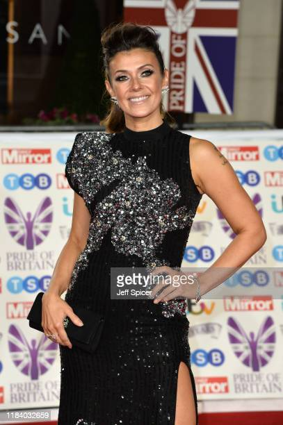 Kym Marsh attends Pride Of Britain Awards 2019 at The Grosvenor House Hotel on October 28 2019 in London England