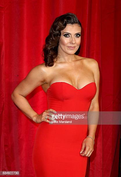 Kym Marsh attends the British Soap Awards 2016 at Hackney Empire on May 28 2016 in London England