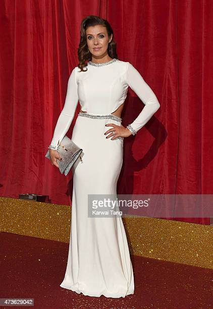 Kym Marsh attends the British Soap Awards at Manchester Palace Theatre on May 16 2015 in Manchester England