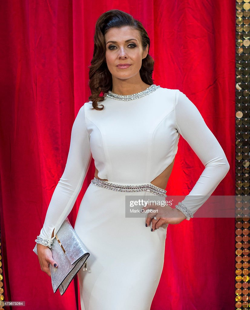Kym Marsh attends the British Soap Awards at Manchester Palace Theatre on May 16, 2015 in Manchester, England.