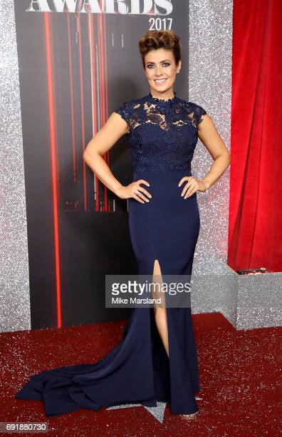 Kym Marsh attends The British Soap Awards at The Lowry Theatre on June 3 2017 in Manchester England The Soap Awards will be aired on June 6 on ITV at...
