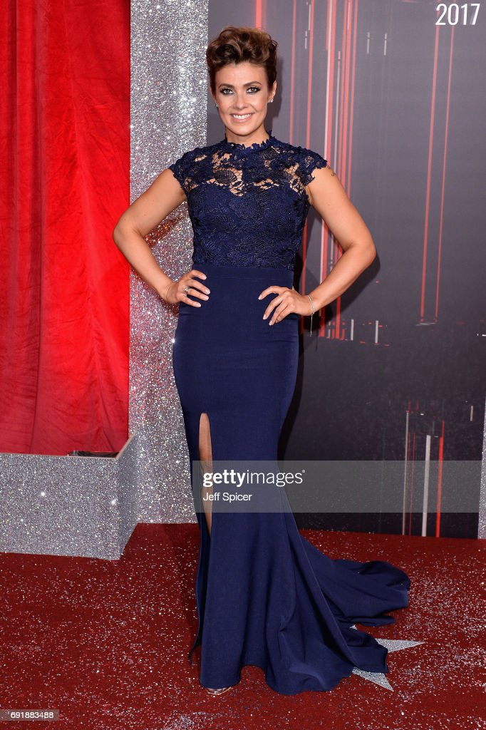 Kym Marsh attends the British Soap Awards at The Lowry Theatre on June 3, 2017 in Manchester, England. The Soap Awards will be aired on June 6 on ITV at 8pm.