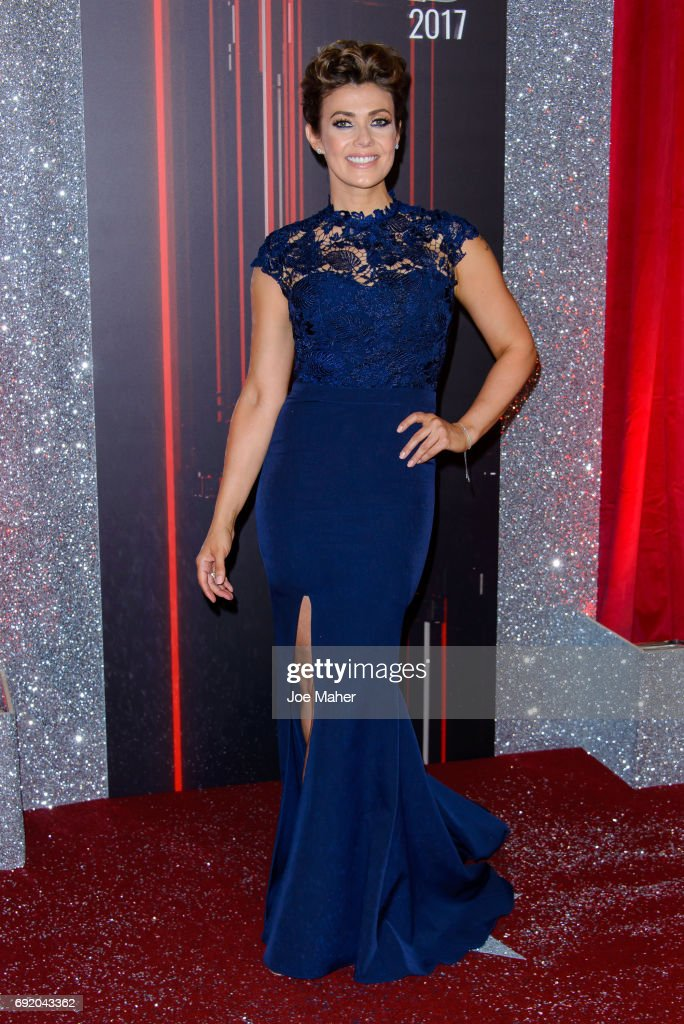 Kym Marsh attends the British Soap Awards at The Lowry Theatre on June 3, 2017 in Manchester, England.