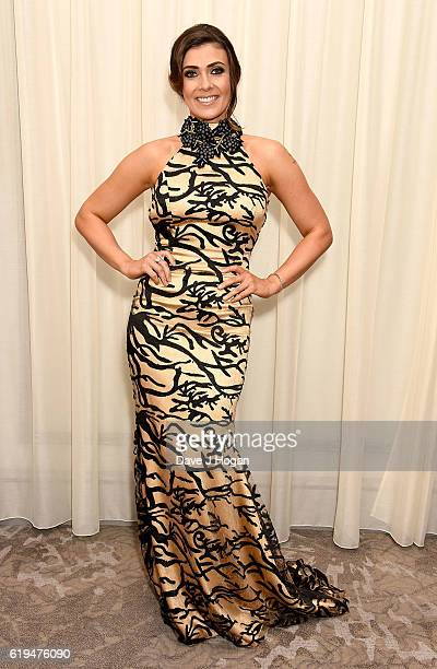 Kym Marsh attends the Daily Mirror Pride of Britain Awards in Partnership with TSB at The Grosvenor House Hotel on October 31 2016 in London England...