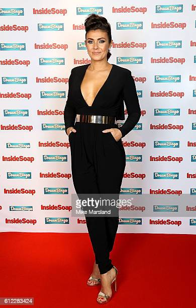 Kym Marsh attends the Inside Soap Awards at The Hippodrome on October 3 2016 in London England