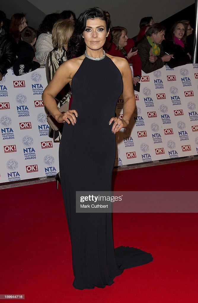 Kym Marsh attends the National Television Awards at 02 Arena on January 23, 2013 in London, England.