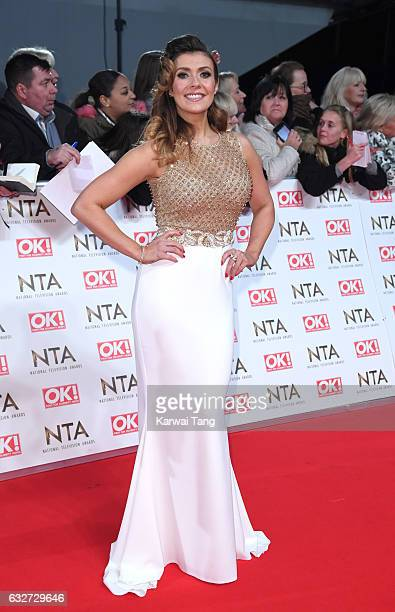 Kym Marsh attends the National Television Awards at The O2 Arena on January 25 2017 in London England