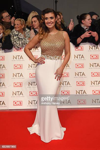 Kym Marsh attends the National Television Awards on January 25 2017 in London United Kingdom