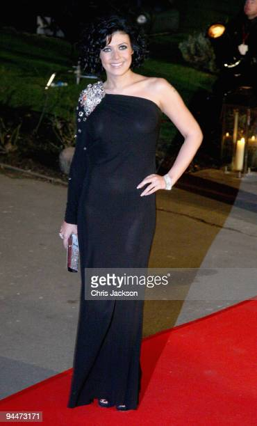 Kym Marsh attends the Night of Heroes ceremony to honour British troops at the Imperial War Museum on December 15 2009 in London England