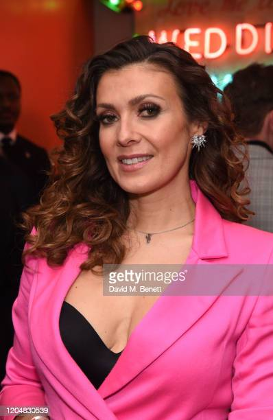 Kym Marsh attends the press night after party for Pretty Woman at The Ham Yard Hotel on March 2 2020 in London England