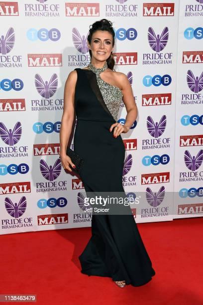 Kym Marsh attends The Pride of Birmingham Awards in partnership with TSB at University of Birmingham on March 26 2019 in Birmingham United Kingdom