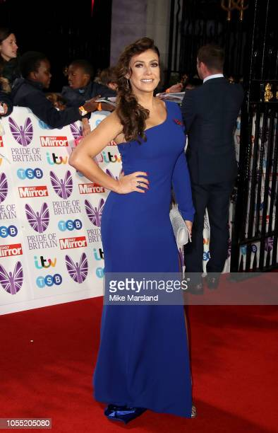 Kym Marsh attends the Pride of Britain Awards 2018 at The Grosvenor House Hotel on October 29 2018 in London England