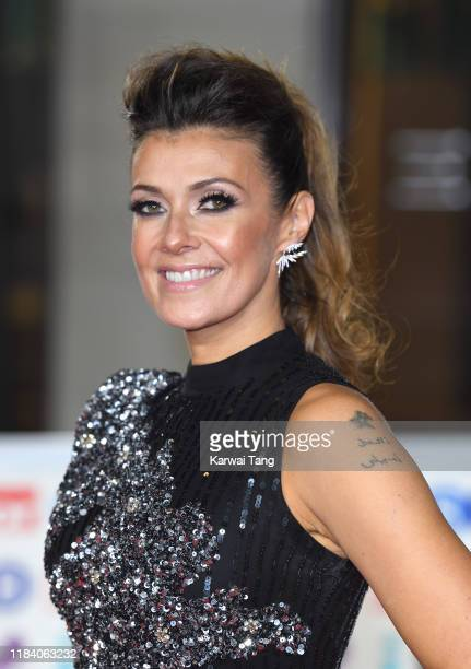 Kym Marsh attends the Pride Of Britain Awards 2019 at The Grosvenor House Hotel on October 28 2019 in London England