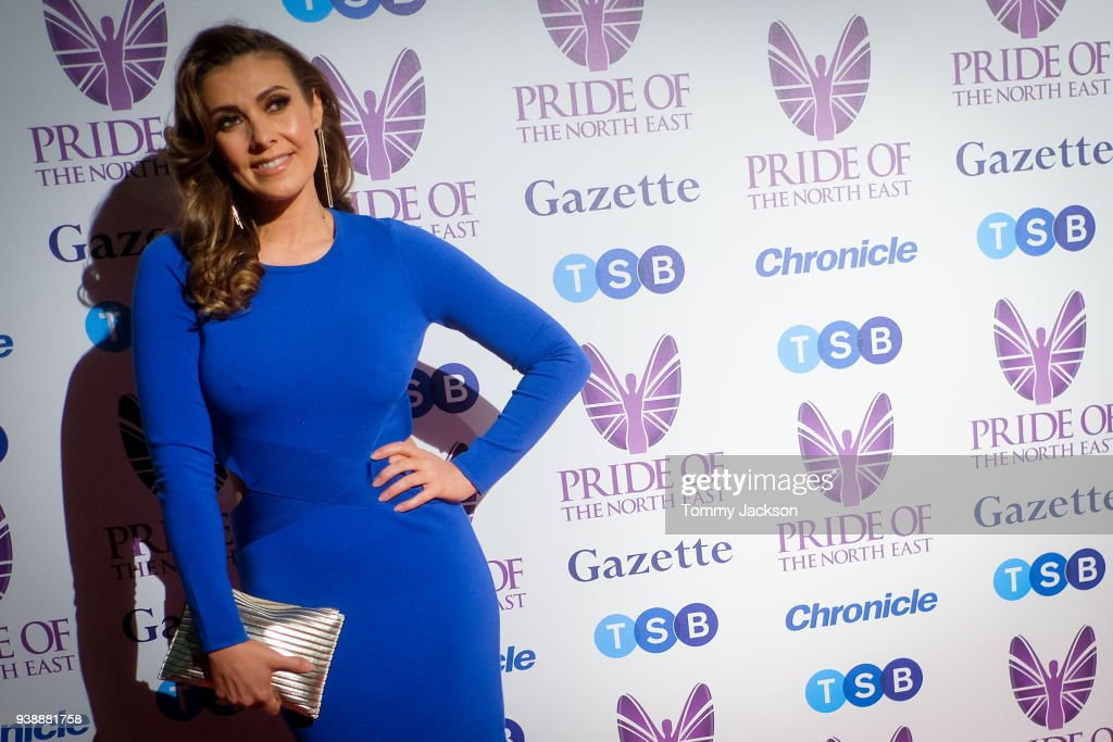 Kym Marsh attends the Pride Of The North East Awards 2018 at Banqueting Hall on March 27, 2018 in Newcastle upon Tyne, England.