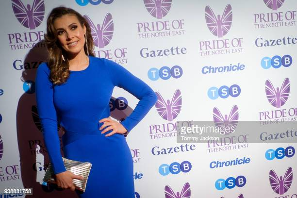 Kym Marsh attends the Pride Of The North East Awards 2018 at Banqueting Hall on March 27 2018 in Newcastle upon Tyne England