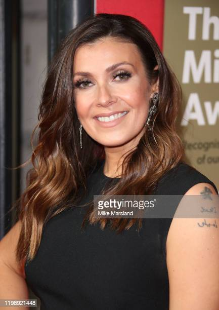 Kym Marsh attends The Sun Military Awards 2020 at Banqueting House on February 6 2020 in London England