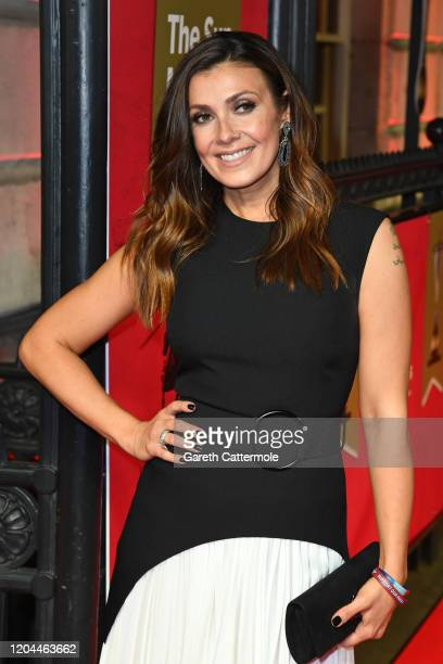 Kym Marsh attends The Sun Military Awards 2020 at Banqueting House on February 06 2020 in London England