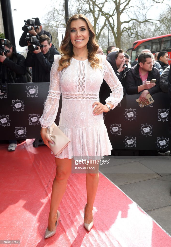 Kym Marsh attends the TRIC Awards 2017 at the Grosvenor House on March 14, 2017 in London, United Kingdom.