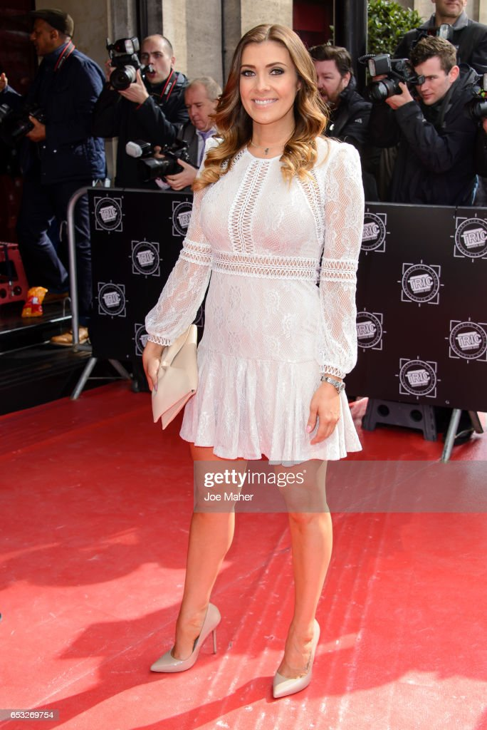 Kym Marsh attends the TRIC Awards 2017 on March 14, 2017 in London, United Kingdom.
