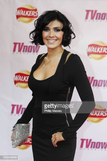 Kym Marsh attends the TV Now Awards on May 22 2010 in Dublin Ireland