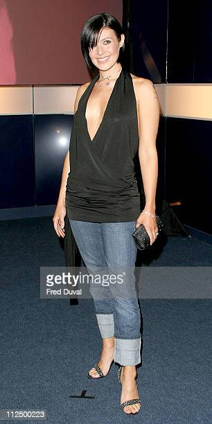 """Kym Marsh during """"Hell's Kitchen II"""" - Day 12 - Arrivals at Brick Lane in London, Great Britain."""