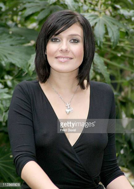 Kym Marsh during Office of Fair Trade Photocall at Office of Fair Trading in London Great Britain