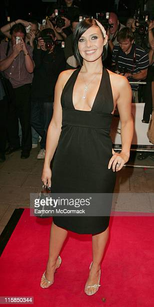 Kym Marsh during TV Quick and TV Choice Awards Outside Arrivals at The Dorchester in London Great Britain
