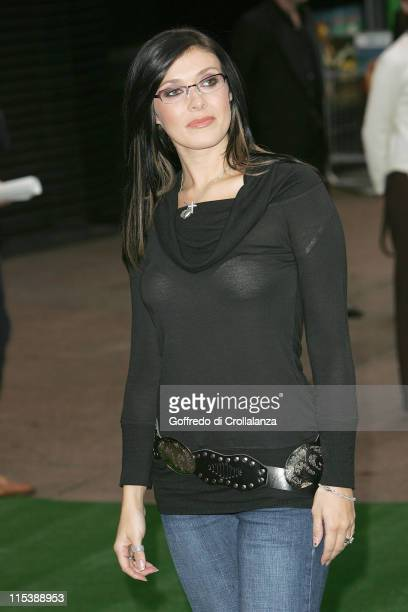 Kym Marsh during Wallace Gromit The Curse of the WereRabbit London Premiere at Odeon Leicester Square in London Great Britain