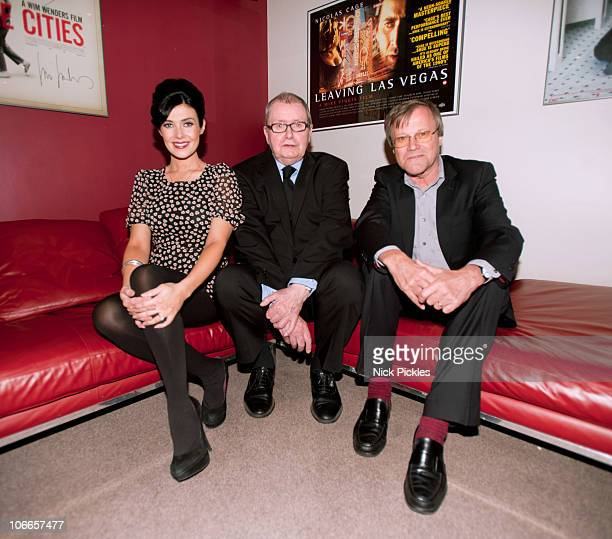 Kym Marsh Tony Warren and David Neilson attend a special screening of Coronation Street's first three episodes to celebrate the soap's 50th...