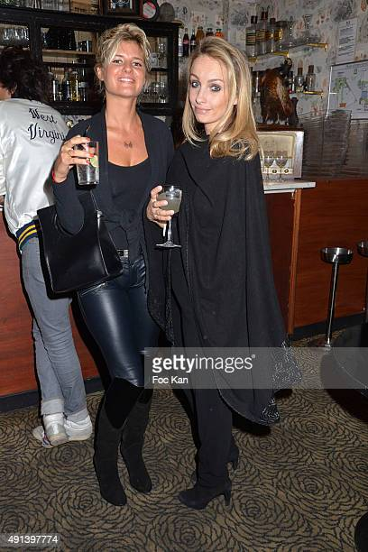 Kym Thiriot and Anne Denis attend the Bus Palladium 50th Anniversary Party In Paris on October 02 2015 in Paris France