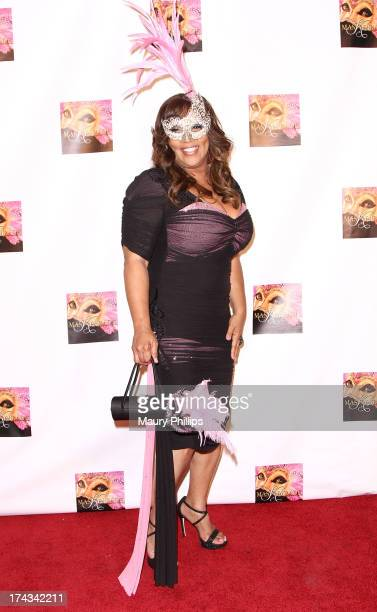 Kym Whitley arrives at Kym Whitley's 40th Birthday Celebration at Rain Nightclub on July 23, 2013 in Studio City, California.