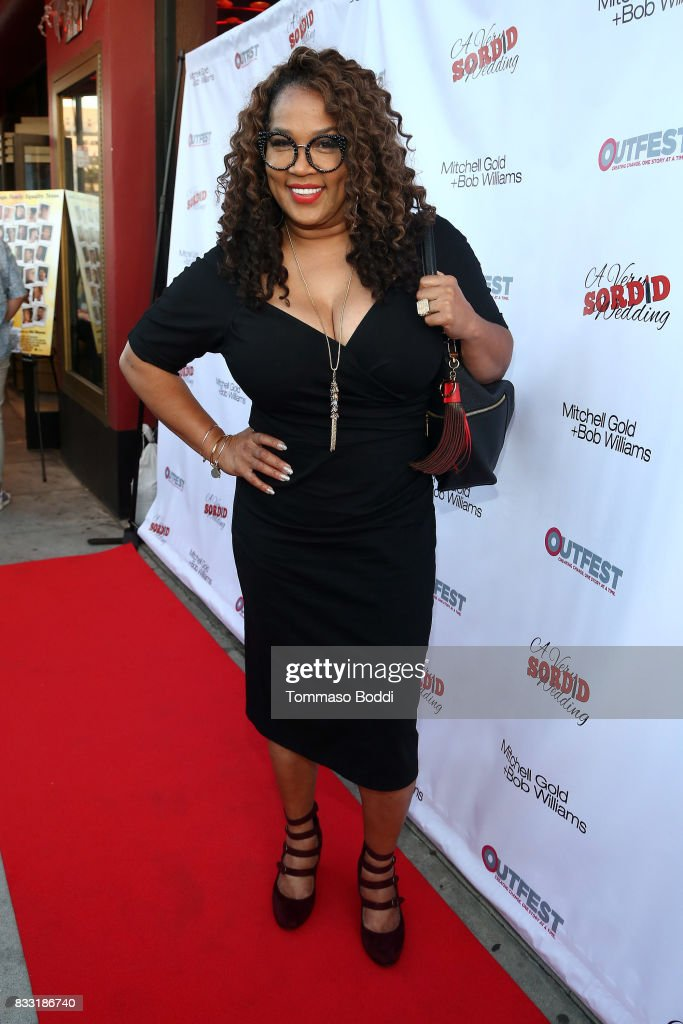 Kym Whitley attends the Premiere Of Beard Collins Shores Productions' 'A Very Sordid Wedding' on August 16, 2017 in Beverly Hills, California.