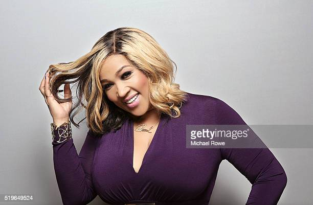 Kym Whitley is photographed at the 2016 Black Women in Hollywood Luncheon for Essencecom on February 25 2016 in Los Angeles California