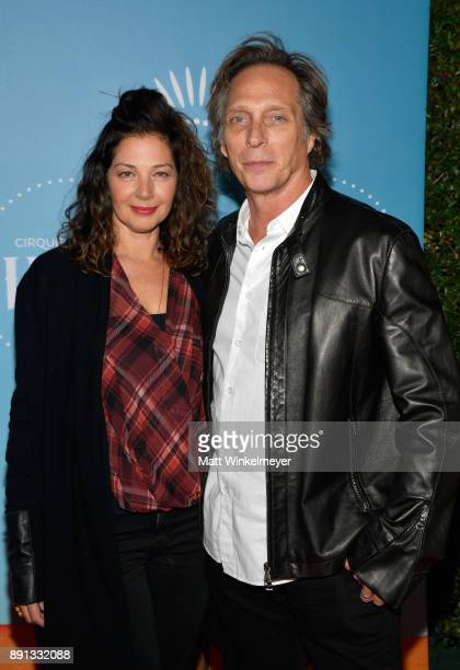 Kymberly Kalil and William Fichtner attend Cirque du Soleil presents the Los Angeles premiere event of 'Luzia' at Dodger Stadium on December 12 2017...