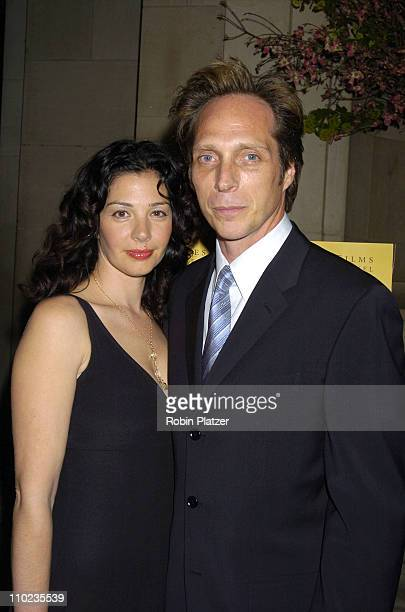 Kymberly Kalil Fichtner and William Fichtner during HBO Films 'Empire Falls' New York City Premiere at Metropolitan Museum of Art in New York City...
