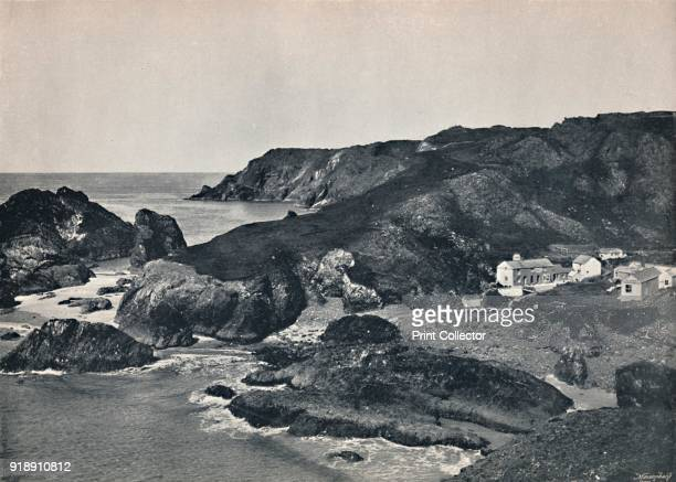 'Kynance Cove The Cove and Village' 1895 From Round the Coast [George Newnes Limited London 1895]Artist Unknown