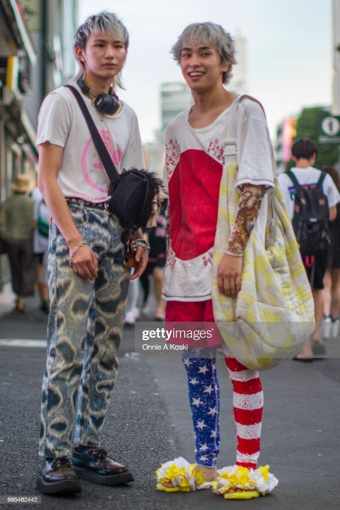 Street Style - Tokyo - July 2018 : ニュース写真