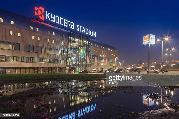 kyocera stadium in the hague - den haag stockfoto's en -beelden