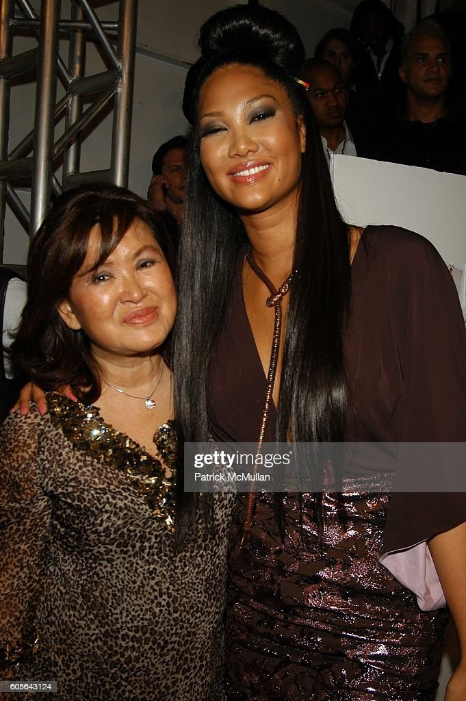 Kyoko Perkins and Kimora Lee Simmons attend Baby Phat Backstage at The Tent Bryant Park NYC  sc 1 st  Getty Images & Patrick McMullan Archives Pictures | Getty Images