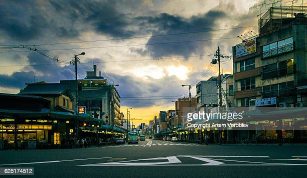 Kyoto, Gion in the evening