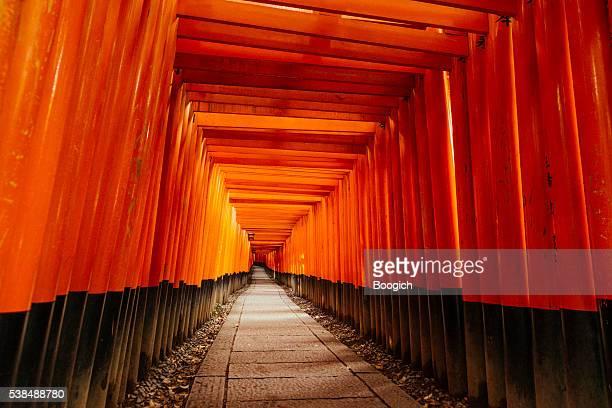 Kyoto Japan Red Gates of Fushimi Inari Shrine Travel Destinations