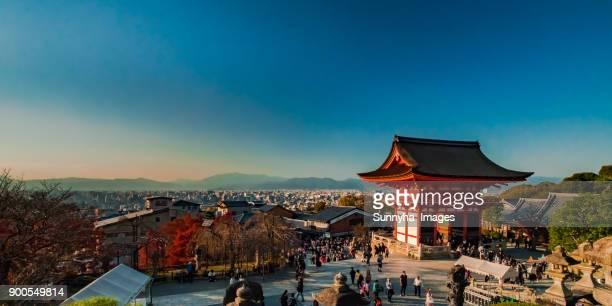 kyoto - kiyomizu dera temple stock photos and pictures