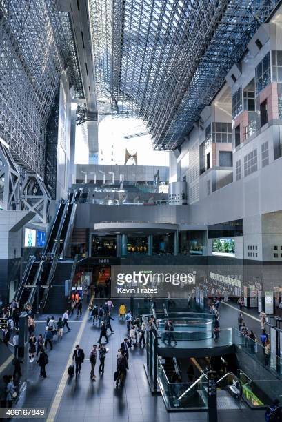 CONTENT] Kyoto Station is simply massive in scale and offers a wealth of places to shop and dine while waiting for the next Shinkansen or train