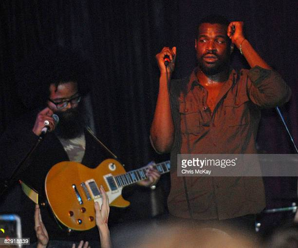 Kyp Malone and Tunde Adebimpe of TV On The Radio **EXCLUSIVE**