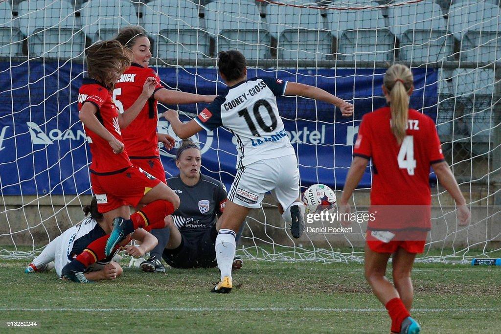 W-League Rd 14 - Adelaide v Melbourne : News Photo