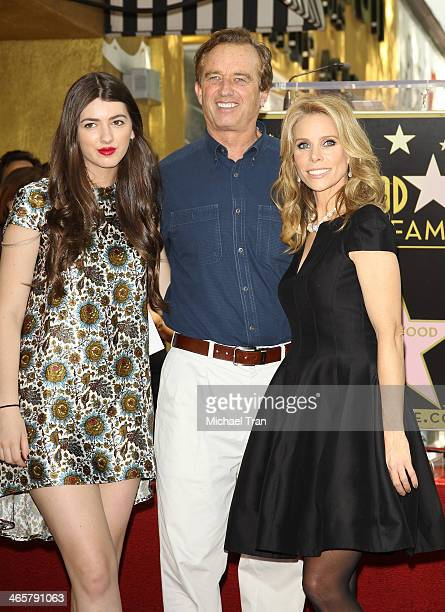 Kyra LeMoyne Kennedy Robert F Kennedy Jr and Cheryl Hines attend the ceremony honoring Cheryl Hines with a Star on The Hollywood Walk of Fame held on...