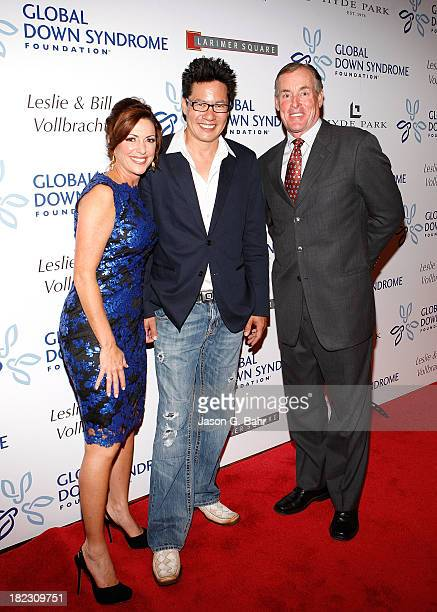 Kyra Phillips Todd Park Mohr and John C McGinley attend the Global Down Syndrome Foundation's Be Yourself Be Beautiful Fashion Show at Sheraton...