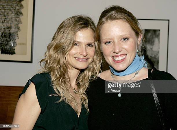 Kyra Sedgwick and Amy Redford during The Playground Project Benefit Dinner at Private Residence in New York City New York United States