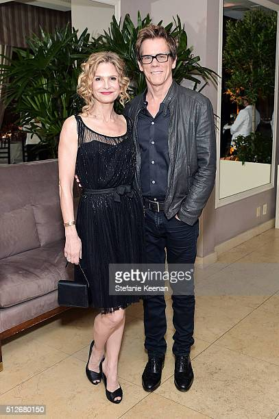 Kyra Sedgwick and Kevin Bacon attend an intimate dinner celebrating Chopard's Journey to Sustainable Luxury hosted by Colin Livia Firth and Caroline...