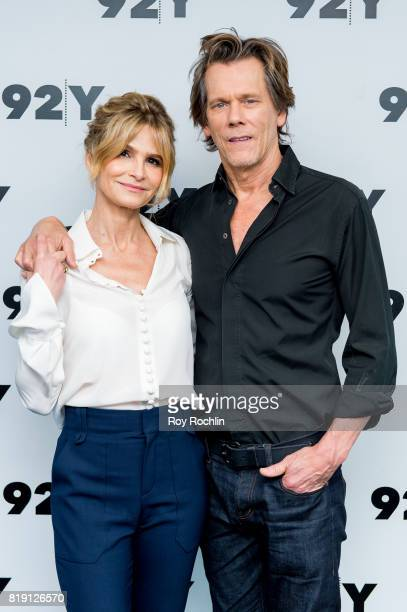 Kyra Sedgwick and Kevin Bacon attend In Conversation at 92nd Street Y on July 19 2017 in New York City